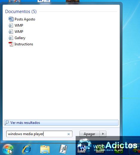 Desinstalar Windows Media Player 12 - windows-media-player-desinstalado
