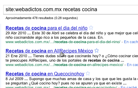 Buscar dentro de un sitio desde google 6 Tips de búsqueda con Google: Busca dentro de un sitio