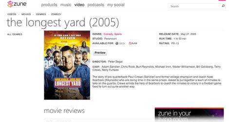 Captura de pantalla 2010 09 21 a las 23.21.25 Microsoft ofrecerá servicio de renta películas en México