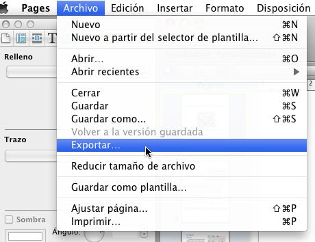Exportar a formato epub libro electronico pages 2 Exportar en formato ePub desde Pages