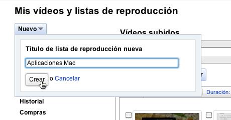 Hacer listas de reproducción de tus videos en YouTube - Hacer-listas-reproduccion-youtube-tus-videos_4