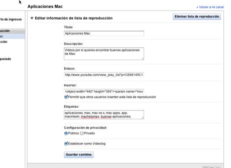 Hacer listas de reproducción de tus videos en YouTube - Hacer-listas-reproduccion-youtube-tus-videos_5