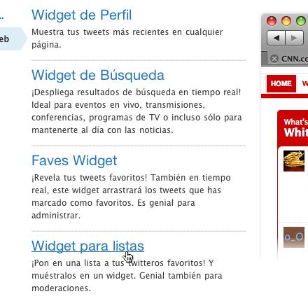 Hacer widget twitter personalizado 5 Crea un widget de Twitter personalizado para tu sitio