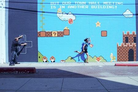 Mural de Super Mario Bros - Mural-de-Super-Mario-Bros
