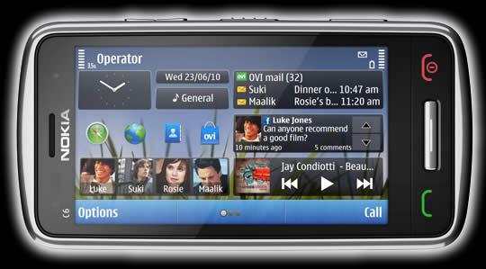 Nokia E7, Nokia C6 y Nokia C7 - Nokia-C6-1