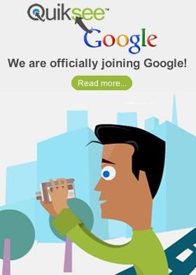 Google compra Quiksee - Quiksee
