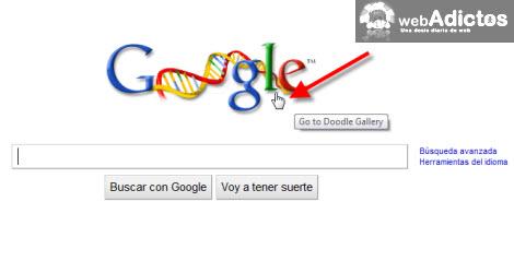 Cambiar el logotipo de Google por Google Doodle Favorito - cambiar-google-doodle