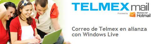 correo prodigy Correo telmex ahora con hotmail