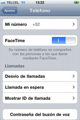facetime iphone Activar FaceTime en iPhone