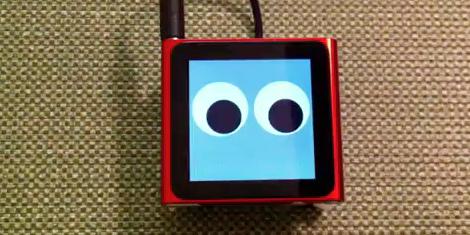 Un iPod nano como un robot que baila [video] - iPod-nano-6G-que-baila-como-robot