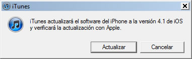 iOS 4.1 disponible para descargar - ios-4.1-actualizacion
