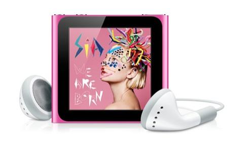 La nueva generación de los iPod ha llegado - ipod-nano