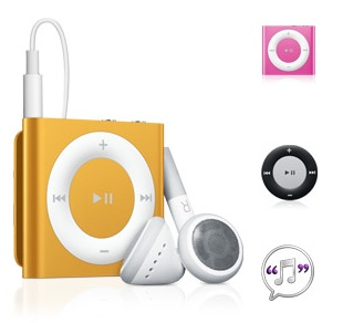 La nueva generación de los iPod ha llegado - ipod-shuffle