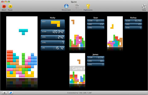 Juegos para mac, Quinn Tetris - juegos-mac-tetris