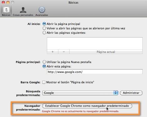 Como cambiar el navegador predeterminado en Mac - navegador-predeterminado