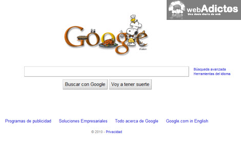nuevo doodle google1 Cambiar el logotipo de Google por Google Doodle Favorito