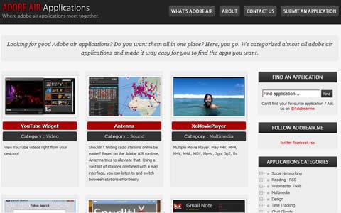 Aplicaciones air en AdobeAir.me - programas-air