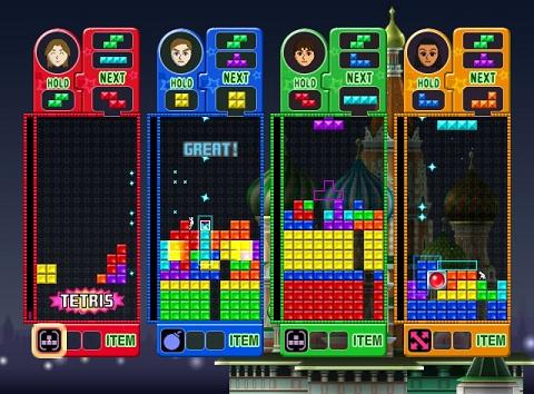 Tetris Party Deluxe, juega Tetris con los pies - tetris-party-deluxe