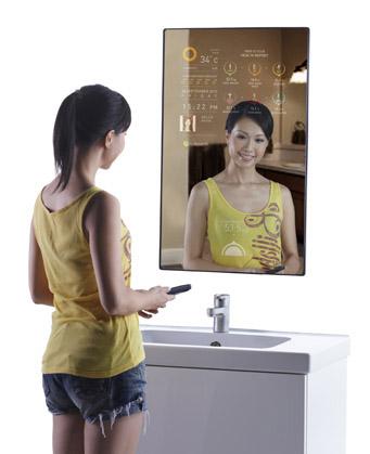 El primer espejo inteligente El primer espejo inteligente