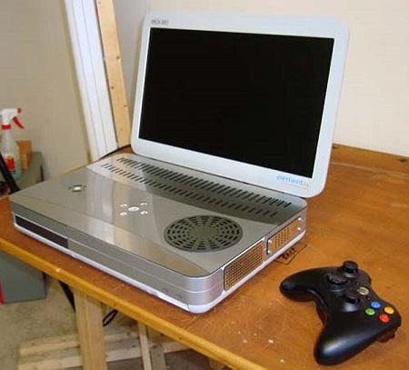 Mod de un Xbox 360 portatil Mod de un Xbox 360 portatil