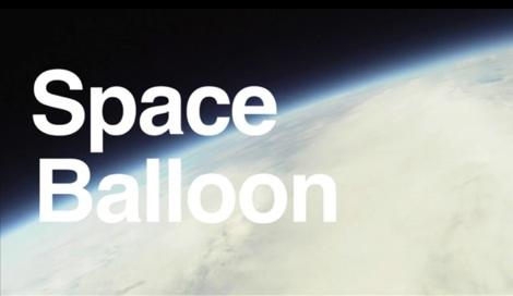 Una cámara atada a una nave espacial hecha en casa - Nave-espacial-hecha-en-casa