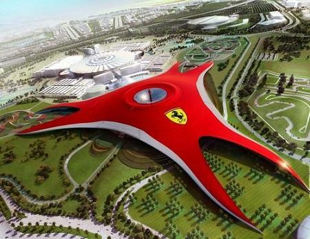 Parque temático Ferrari - Parque-tematico-Ferrari