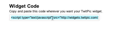 Insertar un widget de Twitpic en tu sitio - Widget-twitpic-a-tu-sitio_5