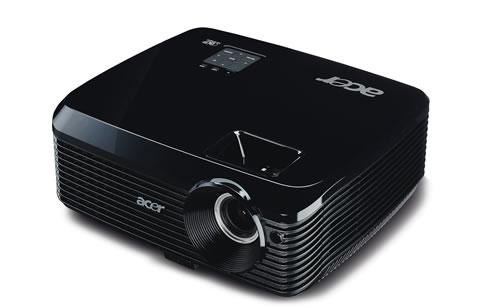X1130 02 Proyectores Acer con tecnología 3D