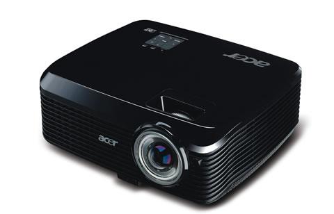 X1230S 02 Proyectores Acer con tecnología 3D
