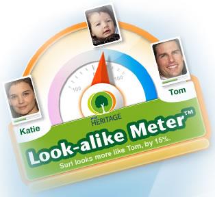 a quien se parece bebe ¿A quién se parece tu bebe? averigualo con Look alike