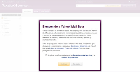 activar yahoo mail beta Nuevo correo yahoo beta