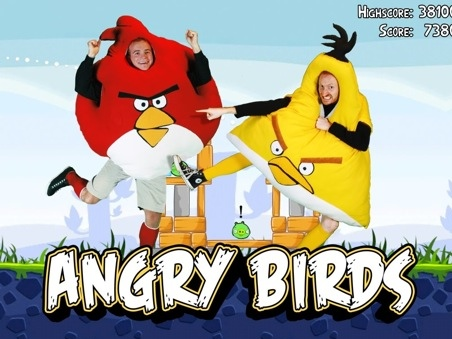angry birds disfraces Divertidos disfraces de Angry Birds