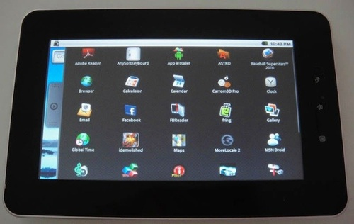 CherryPad, una tablet económica con Android - cherrypad-android-tablet