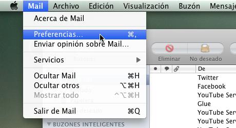 firma mail 1 Hacer firma de correo en Mail para Mac