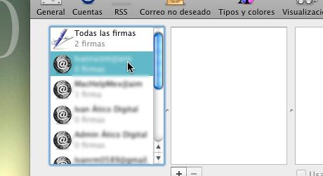 firma mail 3 Hacer firma de correo en Mail para Mac