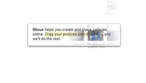 galerias imagenes Crear galerías de imagenes en linea con Min.us