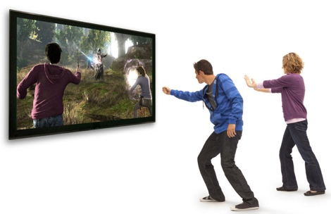 Harry Potter and the Deathly Hallows será compatible con Kinect - harry-potter-kinect