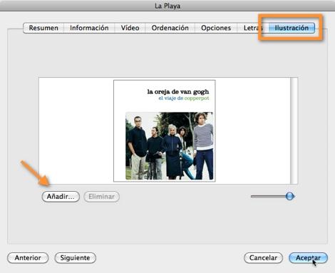 ilustraciones canciones itunes Mantener tus canciones ordenadas en iTunes