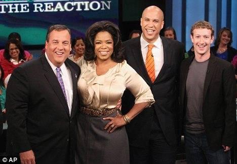 Facebook donará millones de dólares a escuelas públicas - mark-zuckerberg-oprah