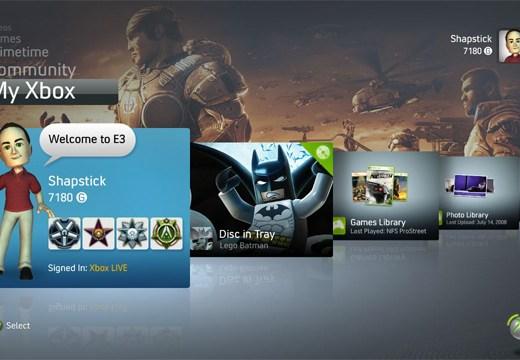 Novedades en el Dashboard del Xbox 360 - new-xbox-360-dashboard