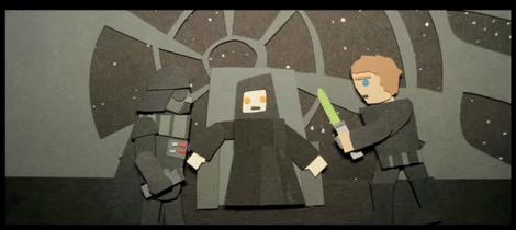 Trilogía de Star Wars en 2 minutos [Video] - star-wars-stop-motion