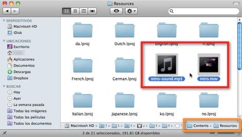 Como ubicar el video de introducción de Mac OS X - video-y.audio-intro-mac
