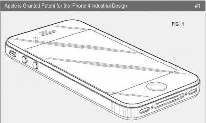 Apple consigue la patente del iPhone 4 - 2-Apple-iPhone-4-Industrial-Design-Win-Nov-23-2010-FIGS-413x248