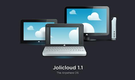 Jolicloud 1 Jolibook, la netbook para la web llega este mes