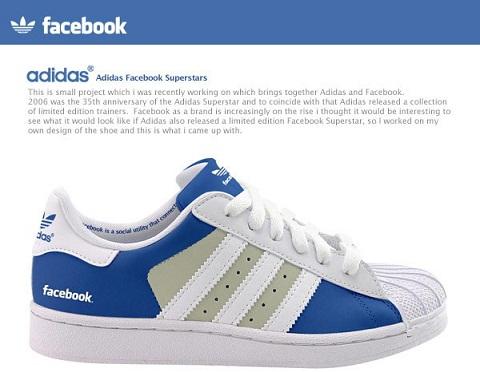 Adidas pondrá a la venta tenis de Facebook y Twitter - adidas-tenis-facebook