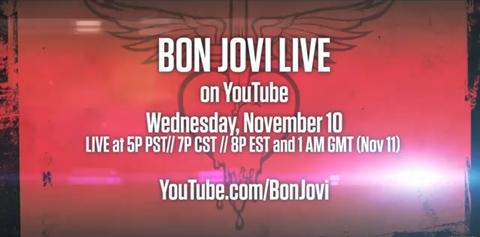 Bon Jovi en vivo por YouTube - bon-jovi-youtube