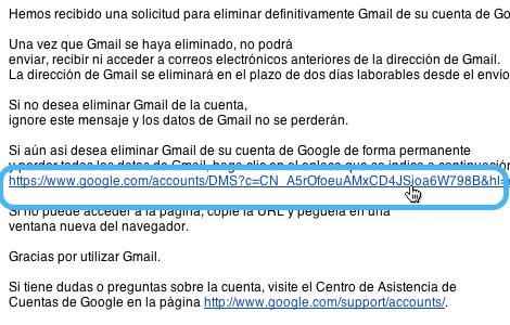 borrar cuenta gmail 8 Cómo borrar tu cuenta de Gmail