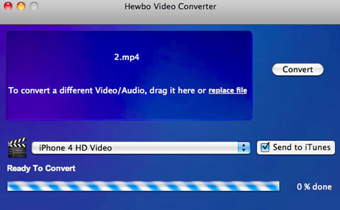 convertir videos ipod Convertir videos para iPod y celulares con Hewbo