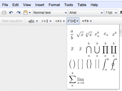 Google mejora Google Docs añadiendo soporte para LaTeX - google-docs-Latex
