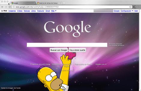 google imagen de fondo Como colocar una imagen de fondo a tu página de inicio de Google